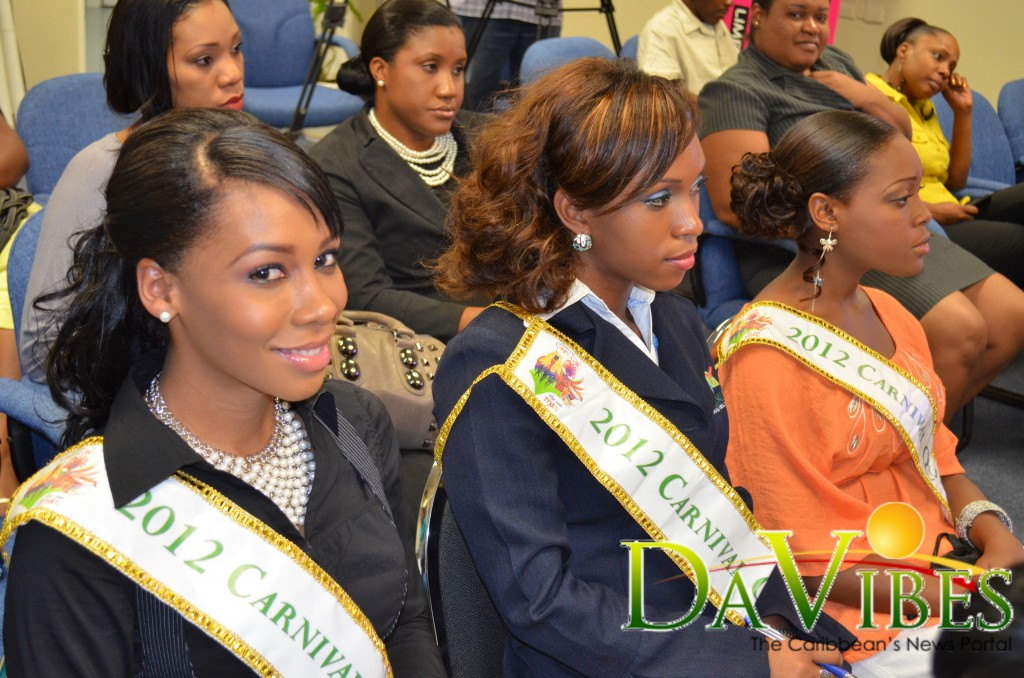 Miss Dominica 2012 contestants promise patrons a spectacular show