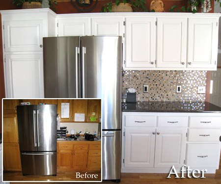 refinishing white kitchen cabinets five easy ways to makeover your kitchen dominica vibes news 25319