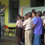 ODM's Steve Joseph and Students of St. John's Primary
