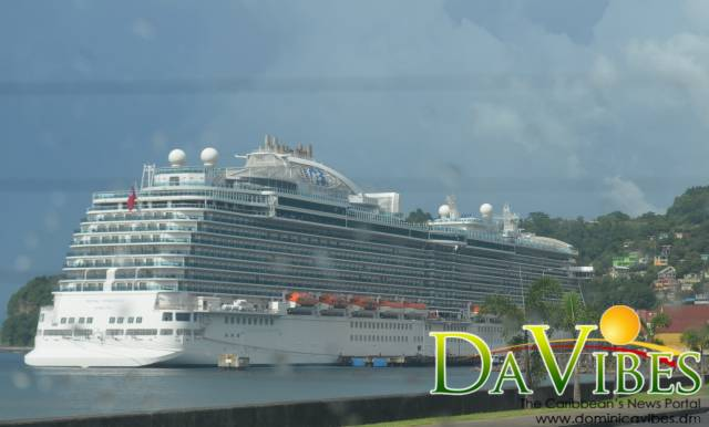 Cruise ship captain pleased to return to Dominica