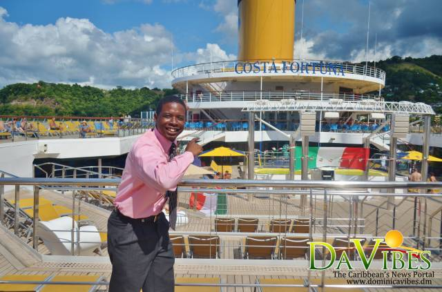 MV Costa Fortuna makes inaugural call to Dominica
