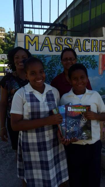 Dhta Presents Experience Dominica Magazine To 9 Schools