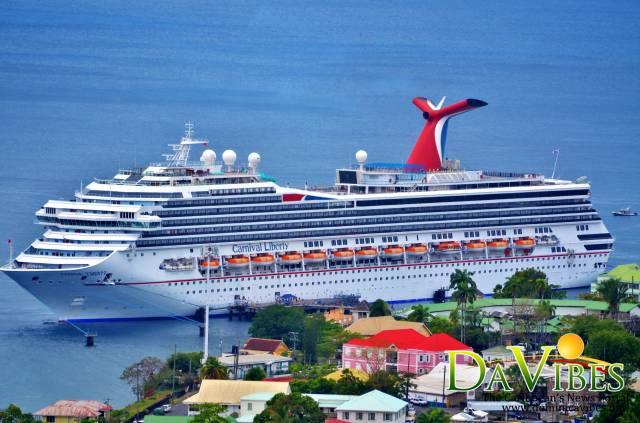Minister Pleased With Carnival Liberty S Unscheduled