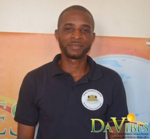 Machel Sulton is an amphibian officer in the Forestry, Wildlife and Parks Division (file photo)