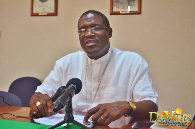 His Lordship Bishop Malzaire says he was Verbally Abused by Protesters