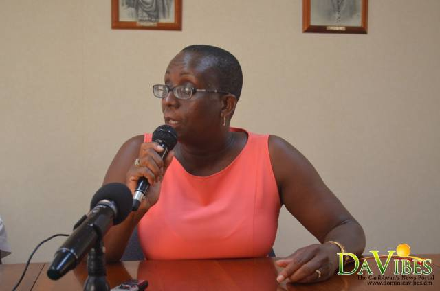 Member of the Roseau Cathedral Renovation Committee, Dr Valda Henry