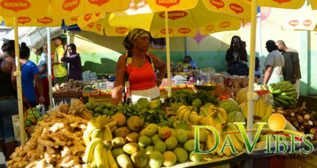 opening of the roseau market dominica vibes news