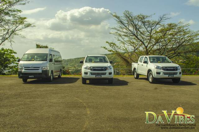 Three new vehicles for the Police Force