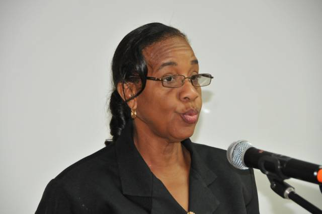 Permanent Secretary in the Ministry of Education and Human Resource Development, Marcella Powell
