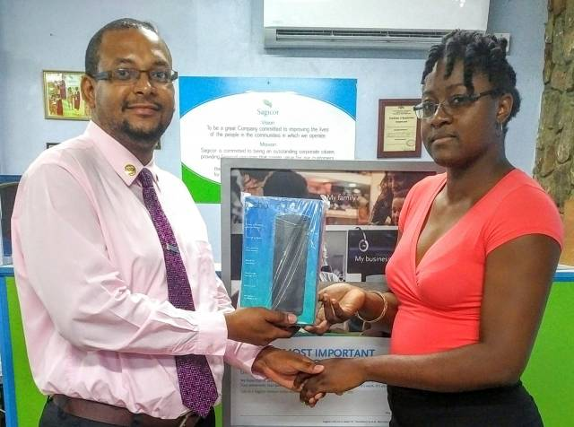 Dominican emerges second in Sagicor competition
