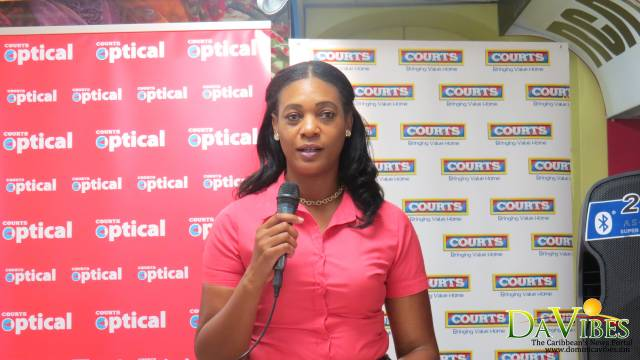 Courts Dominica Limited Credit Manager Jennifer Raymond