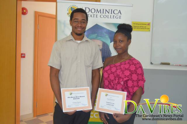 Two DSC students gifted with scholarships