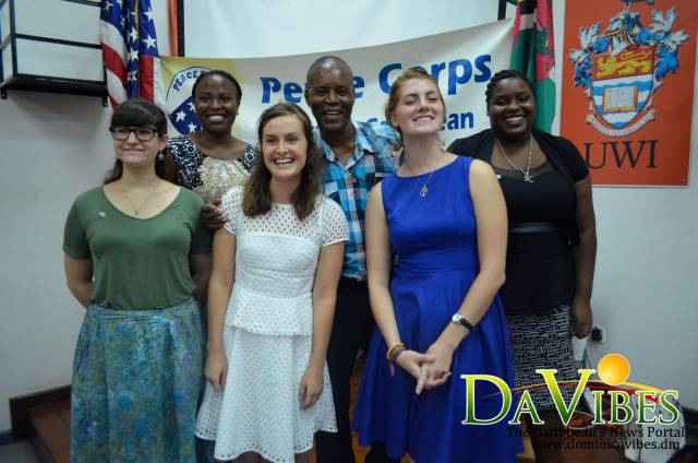 Peace Corps Volunteers promoting literacy in Dominica