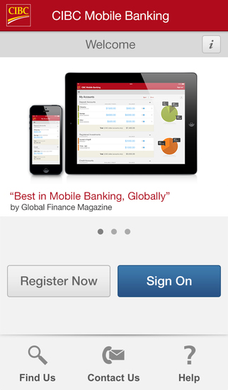 how to add an app for cibc