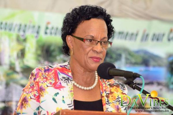 Minister for Social Services, Family and Gender Affairs, Lady Catherine Daniel