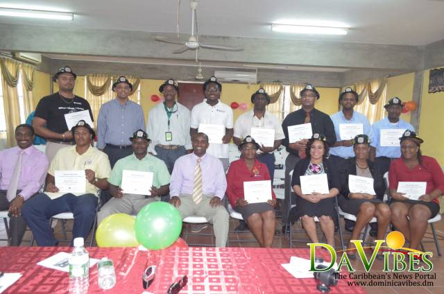 Nineteen certified as fire marshals