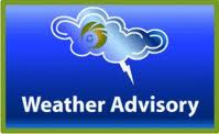 WEATHER: A trough system is affecting area