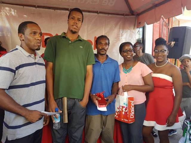 Five win prizes in Digicel's Get Gifted draw