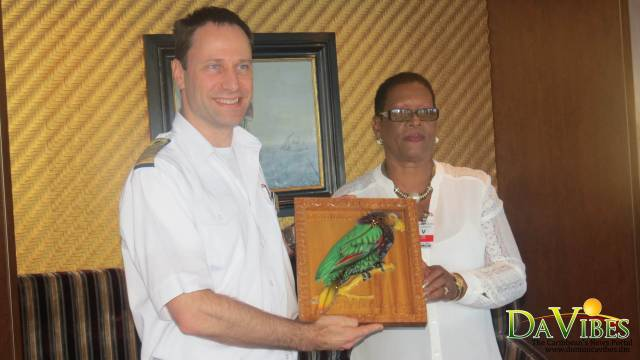 MV Oosterdam makes inaugural visit to Dominica