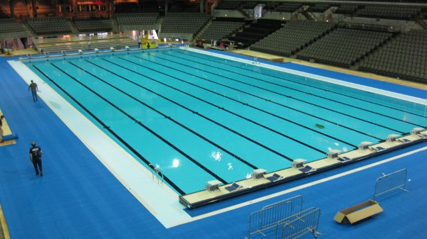 Olympic sized swimming pool to be included in indoor Dimensions of an olympic swimming pool