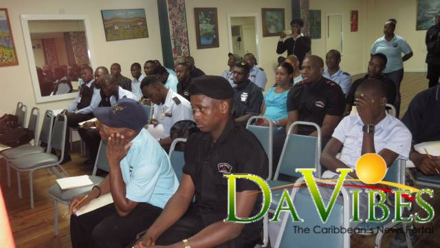 Kings Garment hosts training session for security officers