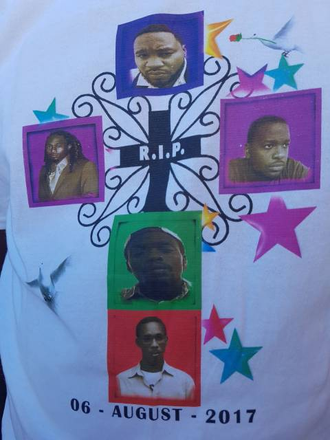 Penville 5 laid to rest