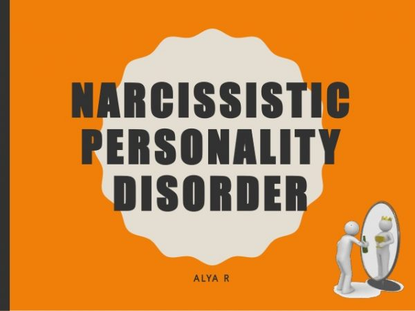 what is narcissistic personality disorder