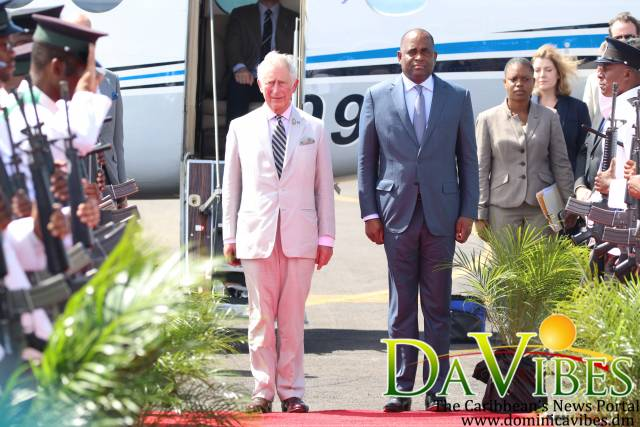 Prince of Wales' visit to Dominica