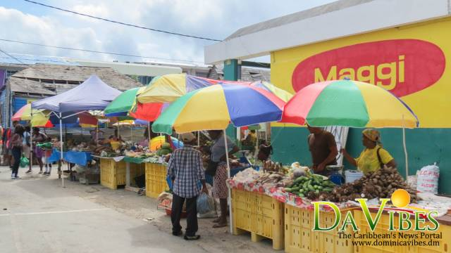 vendors move back to roseau market dominica vibes news