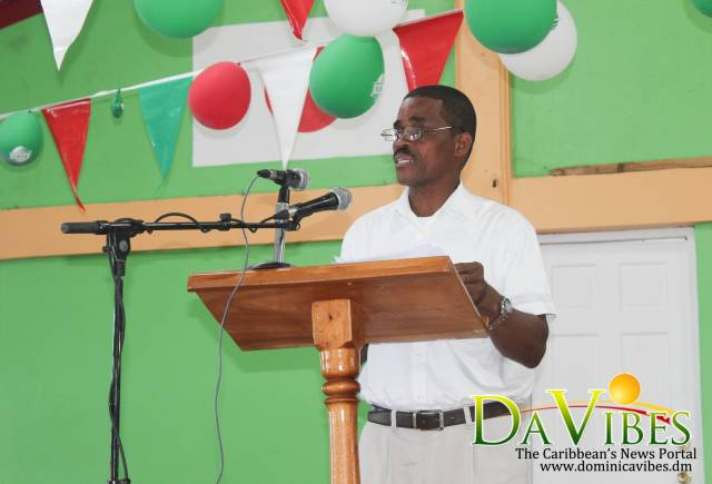 Families housed at the Dominica Grammar School moved into temporary housing