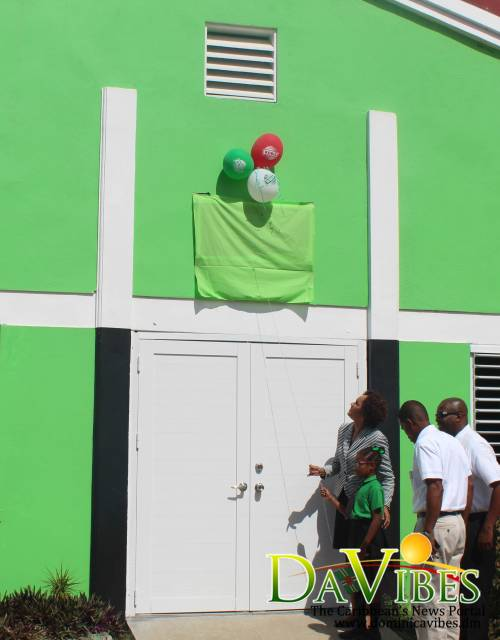 Goodwill Primary School officially receives keys to newly renovated auditorium