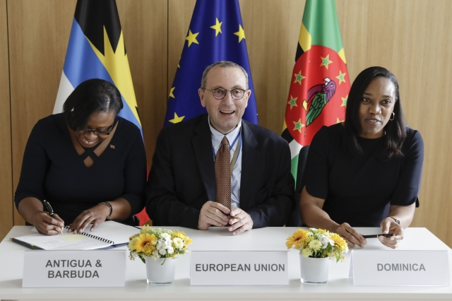 Dominica signs €11M financing agreement with the EU