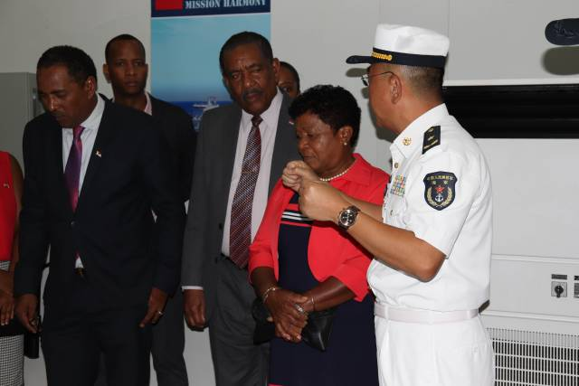 Peace Ark marks new milestone for Dominica China Friendship says Health Minister