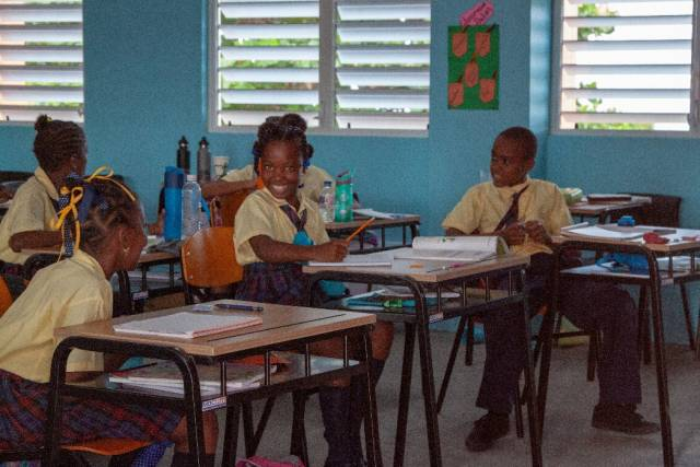 C&W Charitable Foundation contributes EC$ 1.2M to 3 Primary Schools and Public Library