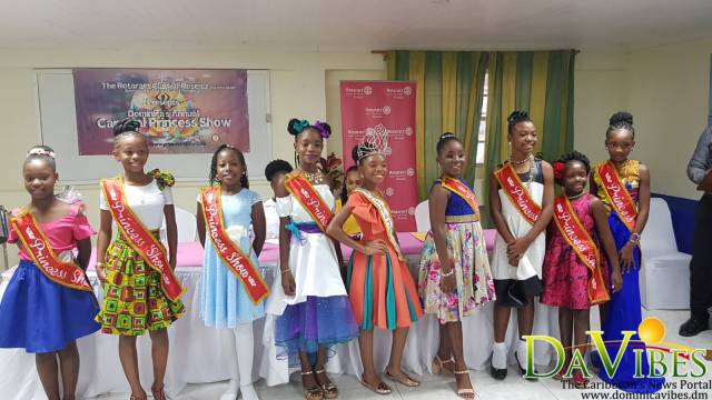 Eight young ladies to compete in the 2018 Carnival Princess Show