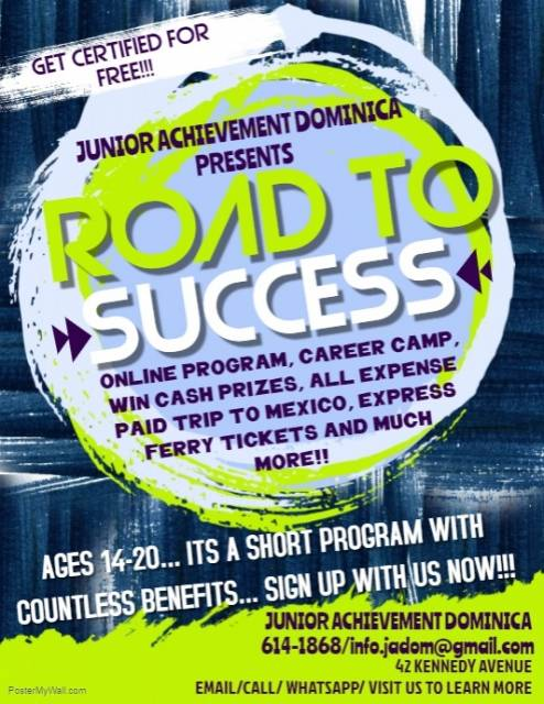 "Junior Achievement Dominica to Carry out ""Road to Success"