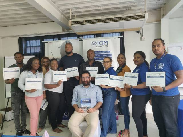 IOM Trains 10 in Disaster Response