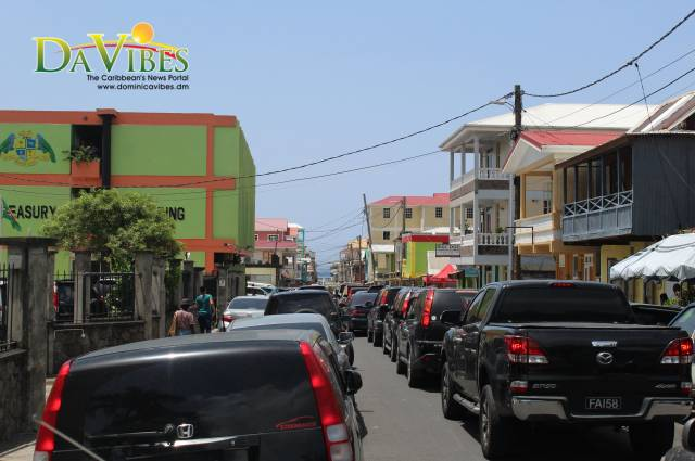 Traffic congestion continues to be major issue in Dominica