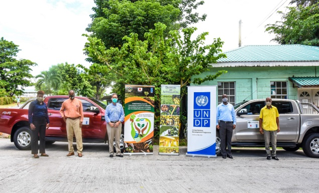 PRESS RELEASE: UNDP provides support to the Division of Agriculture in Dominica
