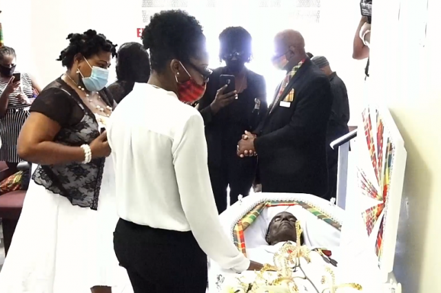 Legendary creole icon and veteran broadcaster laid to rest