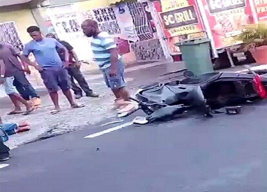 Accident In Massacre | Dominica Vibes News