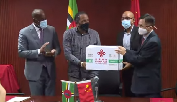 DOMINICA RECEIVES 20,000 DOSES OF SINOFARM COVID-19 VACCINE FROM CHINA