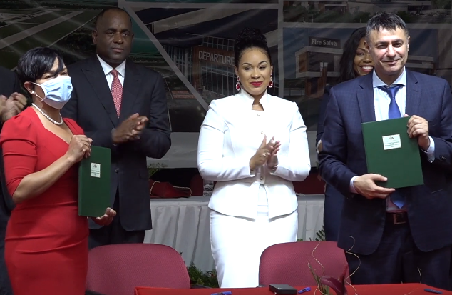Dominica signs agreement for development and construction of the international airport